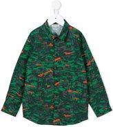 Kenzo camouflage print shirt