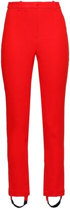 Roberto Cavalli Crepe Slim-leg Stirrup Pants