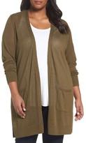 Sejour Plus Size Women's Duster Cardigan