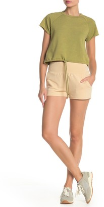 Material Girl Solid Knit Shorts