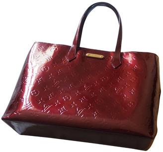 Louis Vuitton Wilshire Burgundy Patent leather Handbags
