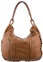 Bottega Veneta Intrecciato and Perforated Leather Hobo