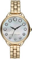 Marc Jacobs Women's Betty Gold-Tone Stainless Steel Bracelet Watch 36mm MJ3509