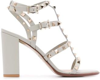 Valentino Rockstud High-Heel Sandals