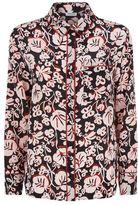 Kenzo Floral Silk Pyjama Shirt