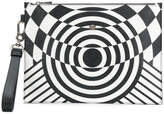 Versace illusion effect clutch