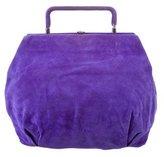 Marni Suede Frame Handle Bag
