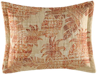 Tommy Bahama Batik Pineapple Quilted Accent Pillow