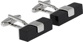 Oxford Cufflinks Bar Blk Stone X