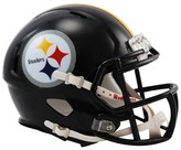 NFL Pittsburgh Steelers Riddell Speed Mini Helmet - Black