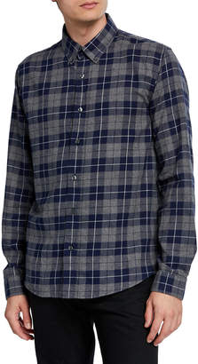 Slate & Stone Men's Dean Plaid Flannel Sport Shirt