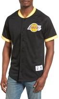 Mitchell & Ness Men's Nba Seasoned Pro - Los Angeles Lakers Mesh Shirt