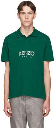 Kenzo Green Jersey Skate Polo