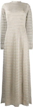 M Missoni Ribbed Long Dress
