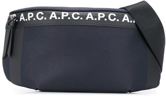 A.P.C. Saville logo belt bag
