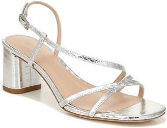 Via Spiga Roslyn Snake-Print Metallic Sandals