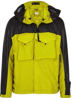C.P. Company Quartz Goggle Green Shell Jacket