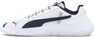 Puma Women's Ferrari Replicat-x Sneaker White-Peacoat White Numeric_5_Point_5