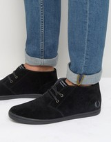 Fred Perry Byron Mid Suede Trainers