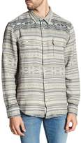 Lucky Brand Clean Two Pocket Jacquard Slim Fit Shirt
