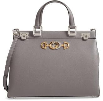 Gucci Medium Zumi Leather Satchel