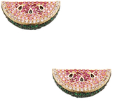 Noir Watermelon CZ Stud Earrings