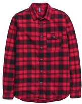 H&M Flannel Shirt - Red/plaid - Men