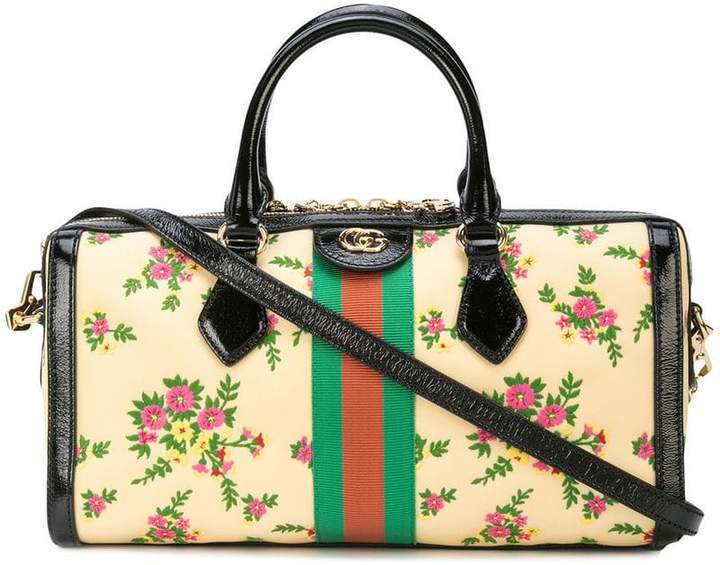 f39a1da5b598 Gucci Floral Bag - ShopStyle