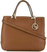 MICHAEL Michael Kors logo top handle tote - women - Calf Leather - One Size