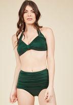 Bathing Beauty Two-Piece Swimsuit in Emerald - 16-34 in 16W