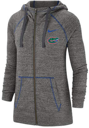 Nike Women Florida Gators Gym Vintage Full-Zip Jacket