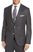 BOSS Men's 'Janson' Trim Fit Herringbone Wool Sport Coat