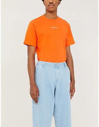 Sandro Solid regular-fit cotton-jersey T-shirt