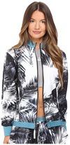 adidas by Stella McCartney Run Palm Print Jacket AX6993