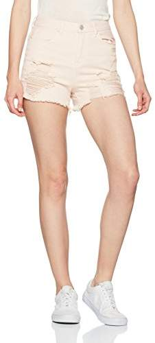 New Look Womens Seatbelt Utility Relaxed Shorts