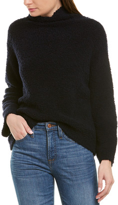 Vince Teddy Wool & Cashmere-Blend Sweater