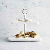 Williams-Sonoma Marble 2-Tiered Stand