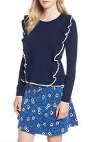 Draper James Women's Nora Ruffle Sweater