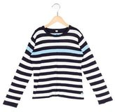 Petit Bateau Boys' Striped Rib Knit Sweater