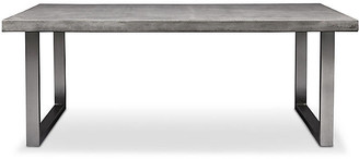 One Kings Lane Viktorie Dining Table - Brushed Stainless Steel