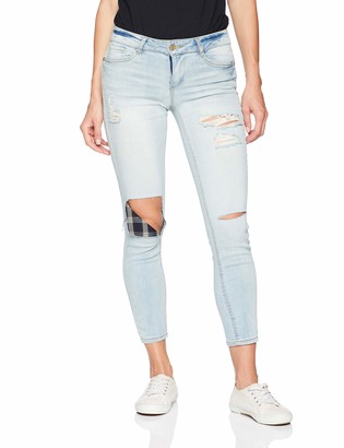 Dollhouse Women's Snowy Blue Denim 7