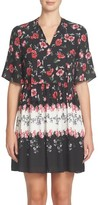 CeCe Petite Women's Elise Floral Dress