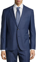 HUGO BOSS Genesis Solid Two-Piece Suit, Medium Blue