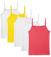 Fruit of the Loom Girls' 5-Pack Camis - Multicolored