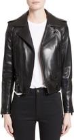 Saint Laurent Leather Moto Jacket