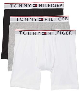 Tommy Hilfiger Modern Essentials 3-Pack Boxer Brief (Black/Grey Heather/White) Men's Underwear