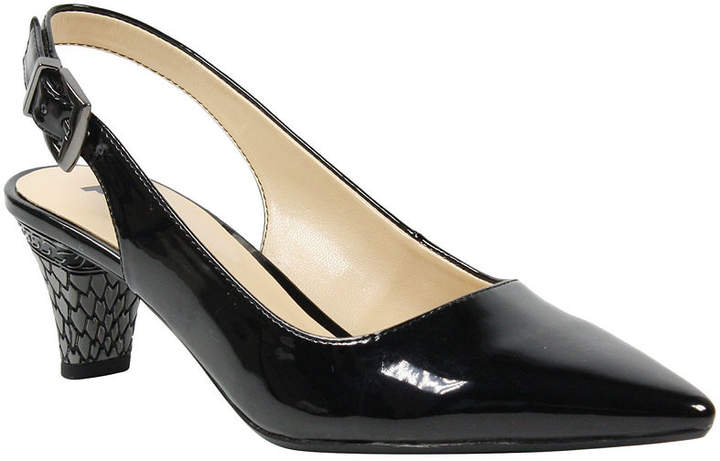 9f8df29b7a Black And White Pump Kitten Heels - ShopStyle