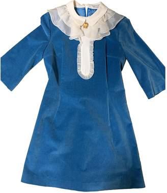 VIVETTA Blue Cotton - elasthane Dresses