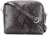 Orciani snake-effect crossbody bag