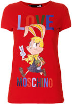 Love Moschino cartoon logo T-shirt
